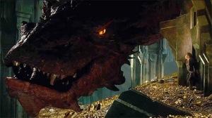 O dragão Smaug. Mítico!!!